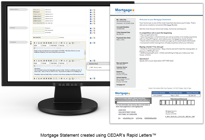 Mortgage Rapid Letters