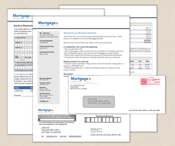 mortgage letters